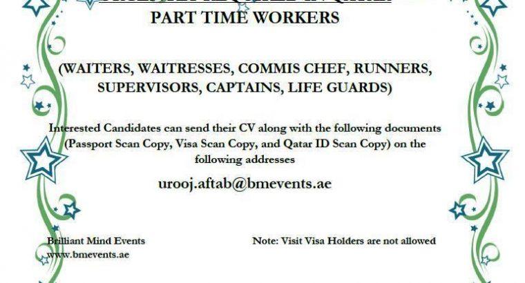 Waiters & Waitresses
