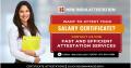 Urgent Certificate Attestation