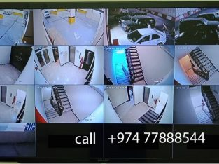 cctv camera installing and maintanance in qatar
