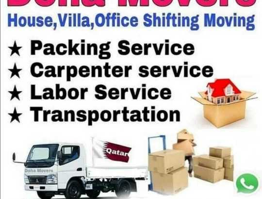🚚🚚🚚🚚🚚🚚🚚☎🇶🇦Call & Whatsapp +97433159017 OUR SERVICE🚚 We do house, villa & office Moving/Shifting.🛏All furniture items dismaintling & fixing. 🛁Kichen item packing.📦All furniture item packing.🚚 Bedroom set shifting/moving.🎁 Packing glass item.🛠 Carpenter Service.🚪 Partation making.🚚 Transportation.🚚 Re-Location.🛒 Labor service.📺TV fixing.⚒Washing, Diswash Machine & stuff Fixing.📜 Curtain Fixing.⚙ We buy also electronic & household items.  ★★★ Our Service All Qatar ★★★★ Anytime anywhere available our best service.Call & whatsapp☎ +97433159017