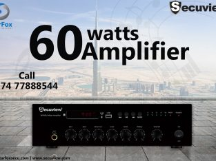secuview 60 watt amplifier
