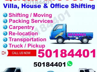 Moving and shifting services House,villa,offi