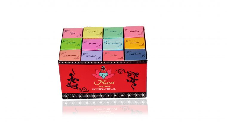 NUSRAT – Best Quality Fragrance – Assorted 12 Pcs