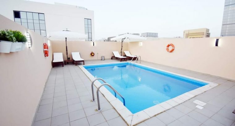Lavishly Furnished 1 BHK in Bin Mahmoud with Pool