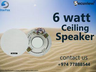 6 Watt Ceiling Speaker, Doha