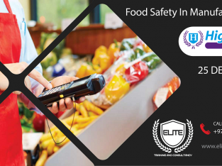 HABC LEVEL 3 IN FOOD SAFETY IN MANUFACTURING