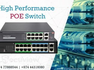 high performance POE switch
