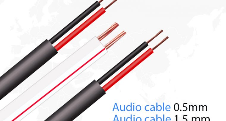 speaker wire / power cable