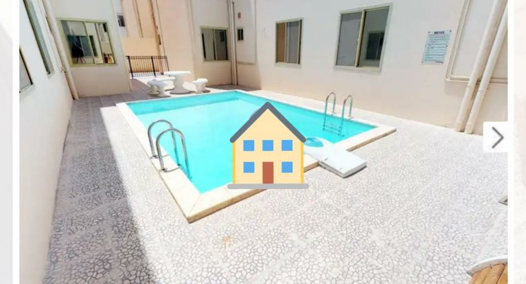 Stylish 2BHK Furnished in Ain Khaled with Pool