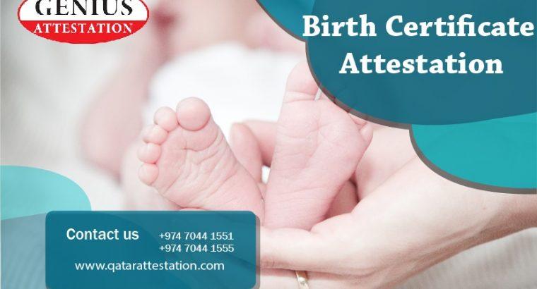Birth Certificate Attestation in Qatar