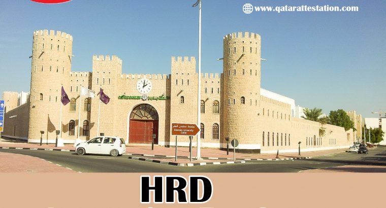 Best HRD Attestation Services in Qatar