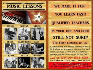 Music Teachers at your home and place!