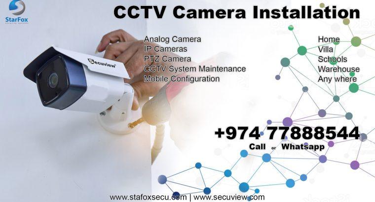 CCTV camera installation & maintenance service