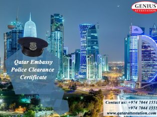 Qatar embassy police clearance certificate
