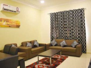 Stylish 1 BHK furnished in Wukair