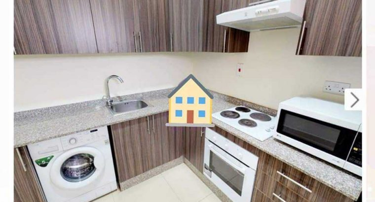 Fully Furnished STUDIO in Sakhama with ONE MONTH FREE