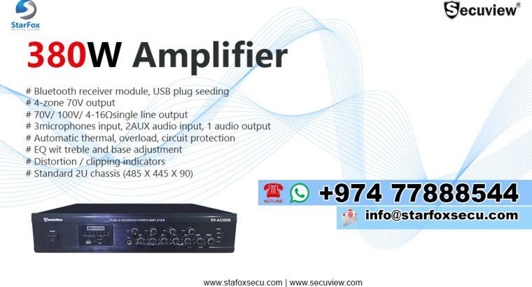 PA Amplifier 380W