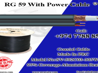 Rg59 Cable with power