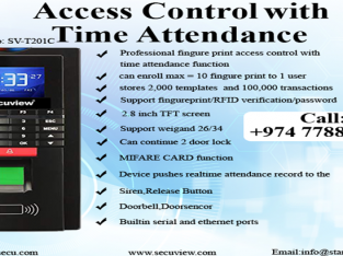 Access Control with Time Attendance