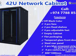 42u network cabinet