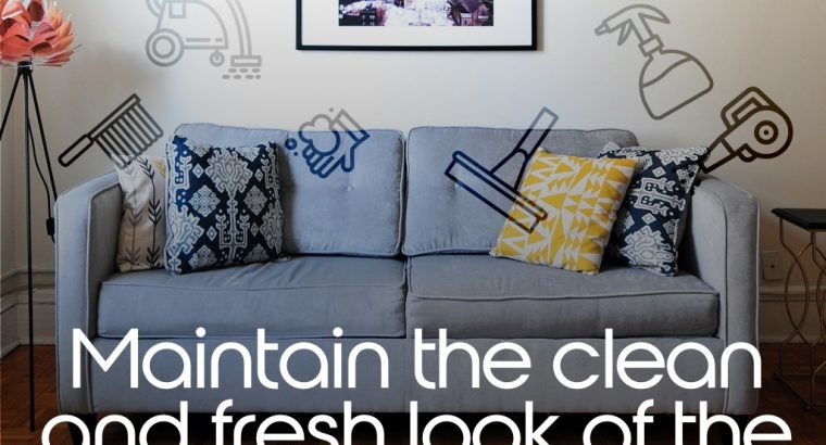 Hire Sofa Cleaning Services | Fresho Cleaning