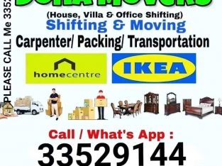 Doha moving service Call me 33529144