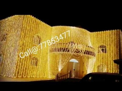 Wedding Lighting in Qatar