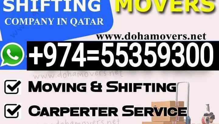 doha movers and packers service coll:55359300